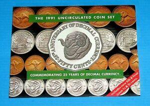 Australia 1991 Uncirculated Mint Set Nice