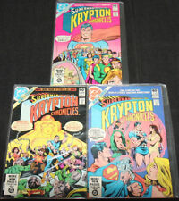 Krypton Chronicles 3Pc Lot/Run (Vf-Nm)