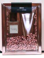Victoria's Secret Gift Set Love Fragrance Body Mist & Body Lotion