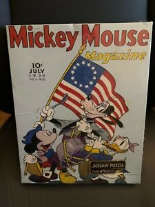 Springbok SPIRIT OF '76 Jigsaw Puzzle Mickey Mouse New Sealed Torn Plastic