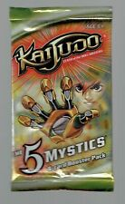 5x Unopened Kaijudo Clash of the Duel Masters The 5 Mystics 9 Card Booster Packs