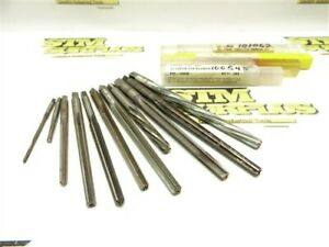 LOT OF 11 HSS TAPER PIN REAMERS #1 #3 #4 & #5 CLEVELAND YANKEE L&I