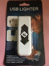 USB LIGHTER RECHARGEABLE NO GAS NEEDED WINDPROOF EASY IGNITION SAFE RELIABLE