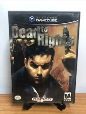 Dead to Rights (Nintendo GameCube, 2002)Complete W/ Manual - Great
