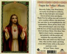 Prayer for Police Officers Card Laminated Thank You for Calling Men and Women
