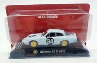 EBOND Modellino Alfa Romeo Giulietta SZ 1961 - Die cast - 1/43 0061.