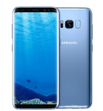 """Samsung S8 G950F 5.8"""" 64GB Wi-Fi GPS Android Blue Smartphone+Accessories Gift"""