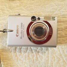 Canon PowerShot Digital ELPH S500 Digital IXUS 500 5.0MP Digital Camera