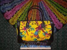 10d34be0fa68 Large Floral Quilted Cotton Tote Shopping Bag Womens Shoulder Handbag  Travel Bag