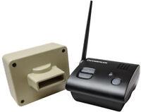 Driveway Alarms Wireless Long Range 1/2 Mile  Professional Outdoor Motion Sensor