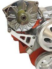 Small Block Chevy Aluminum Alternator bracket Long Water Pump SBC LWP 350 ALT
