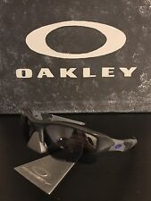 Oakley Flak Jacket XLJ Infinite Hero SI Carbon Purple/Black Sunglasses 24-421