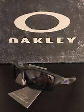 Oakley Flak Jacket XLJ Infinite Hero SI Carbon Purple/Black Sunglasses 24-421