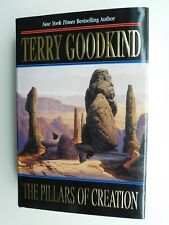 Collectible Terry GOODKIND The Pillars of Creation hardcover DJ 1st/1st unread
