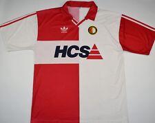 1989-1991 FEYENOORD ADIDAS HOME FOOTBALL SHIRT (SIZE XL)