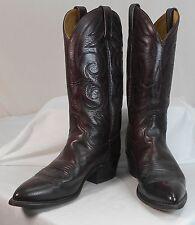 ACME/DINGO western cowboy boots mens size 8 1/2 D ( womens 10 1/2 W) Cordovan