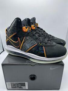 Nike LeBron 8 Space Jam DB1732-001 Men's Size 10 FREE SHIPPING
