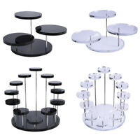Cupcake Stand Acrylic Display Stand For jewelry Cake Dessert Rack Party Decfw
