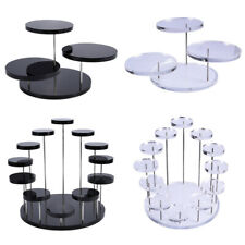 Cupcake Stand Acrylic Display Stand For jewelry Cake Dessert Rack Party Decor