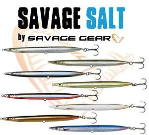 Savage Gear Fishing Lures 3D SANDEEL PENCIL 9cm 13g 12,5cm 19g Saltwater Loud