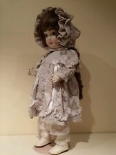 FRANCINE CEE -PORCELAIN DOLL -STANDS 19 INCHES TALL-SIGNED  & NUMBERED # 156191
