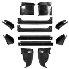 67-72 KIT Chevy Cab Repair, X-Rockers, Cab Corners, Inner, Floor & Supports GMC