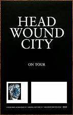 HEAD WOUND CITY A New Wave Of Violence 2016 Ltd Ed RARE Poster! BLOOD BROTHERS