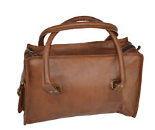 Real Leather Brown Vintage Women's Hand Bag