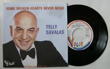 TELLY SAVALAS (KOJAK) (SP 45T) SOME BROKEN HEARTS NEVER MEND