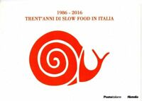 FOLDER 2016 30° ANNIVERSARIO DI SLOW FOOD