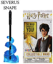 """Severus Snape Harry Potter Die Cast Wand 4"""" Factory Sealed"""