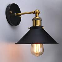 Retro Industrie Wandleuchte Wandlampe Edison Metall Vintage Loft Antik E27 E26
