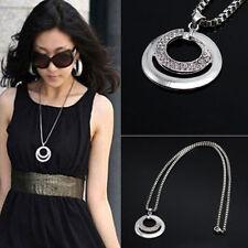 Crystal Rhinestone Chain Costume Necklaces & Pendants