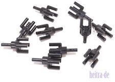 LEGO - 10 x Lampenhalter schwarz / Halter für Palmenblatt / 2566 NEUWARE
