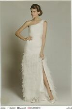 Jadore Gown Dress - One Shoulder - Formal, Wedding, Ivory, Dusty Pink, Mauve