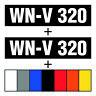 Schlauchboot Kennzeichen ✔ 2x Schablone + Schlauchbootfarbe ✔ Bootskennzeichen ✔