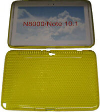 Custodia in gel Pattern Protettore COPERCHIO GIALLO PER SAMSUNG GALAXY NOTE 10.1 n8000 n8010