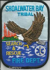 """Shoalwater Bay Tribal -  S.A.R., WA  (3.5"""" x 5"""" size) fire patch"""