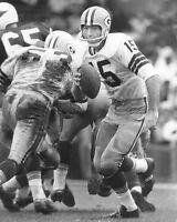 Green Bay Packers Quarterback BART STARR Vintage 11x14 Photo NFL Football Print