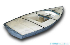 Laser II Sailboat - Boat Hull Cover - Gray Polyester