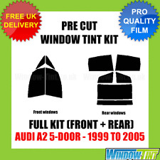 AUDI A2 5-DOOR 1999-2005 FULL PRE CUT WINDOW TINT KIT