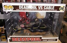 Funko Marvel Comic Moments DEADPOOL VS CABLE Pop Vinyl Figure IN HAND X-Force