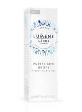 Lumene Purity Dew Drops Hydrating Eye Gel; Reduce Eye Puffiness & Dark Circles