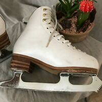 Jackson Elle Youth Ice Skates Size 2C Fair Used Condition