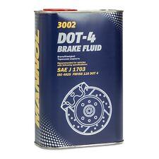 MANNOL Brake Fluid DOT-4 Bremsflüssigkeit SAE J 1703/ ISO 4925, 1 Liter