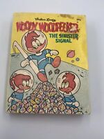 Woody Woodpecker The Sinister Signal Paperback Book 1969 Vintage Collectible