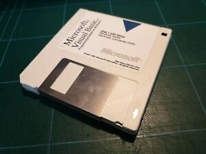 "MICROSOFT VISUAL BASIC X WINDOWS ( 3 DISK 3,5"" ) no commodore 1991"