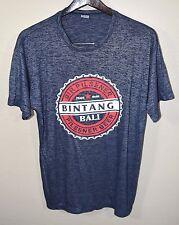 Bintang Beer T-Shirt LARGE Blue Bali