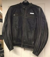*Harley-Davidson Men's Trenton Leather Jacket 97106-12VM Size Medium, Used*