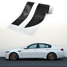 Car M Performance Side Skirt Stripe Sticker Body Decal For BMW 5 Series M5 F10